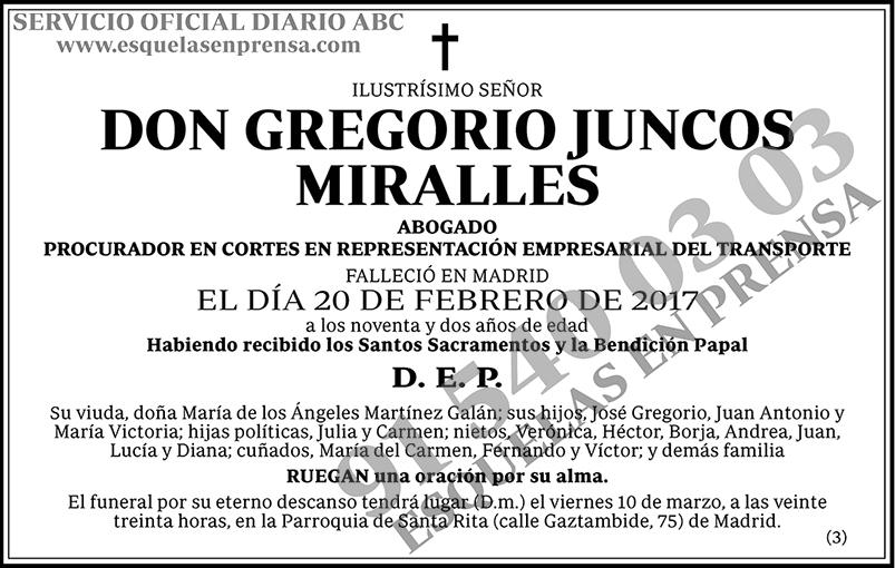 Gregorio Juncos Miralles